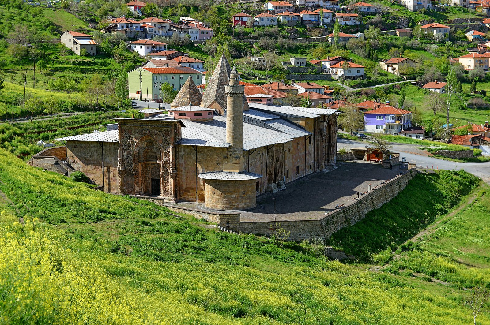 The Great Mosque and Hospital of Divriği, situated in Sivas province in central eastern Turkey, is a remarkable building on the list of UNESCO World Heritage Sites.  (PHOTO BY MUSTAFA CAMBAZ)
