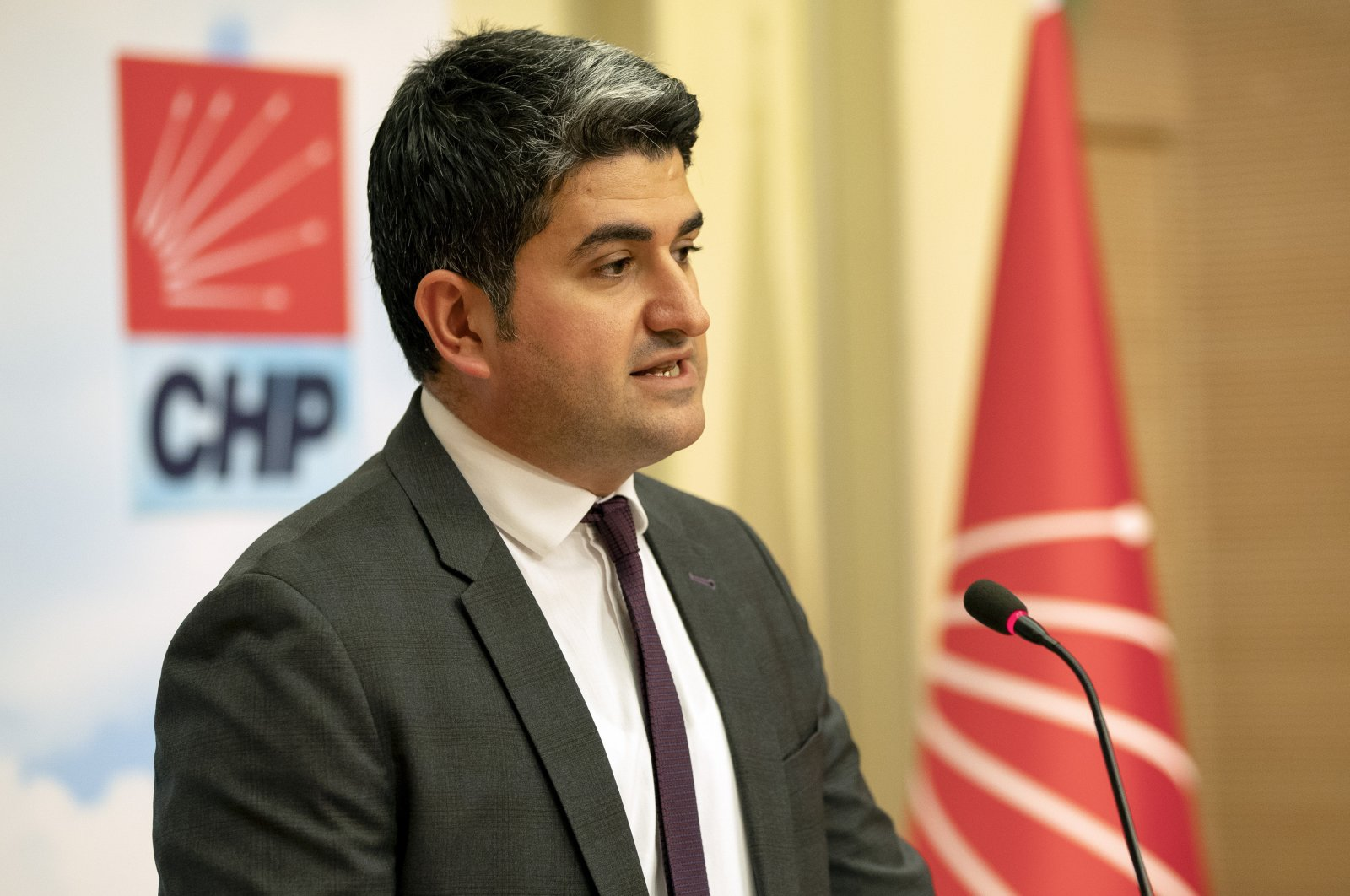 Onursal Adıgüzel, the deputy chair of the main opposition Republican People's Party (CHP). (AA Photo)