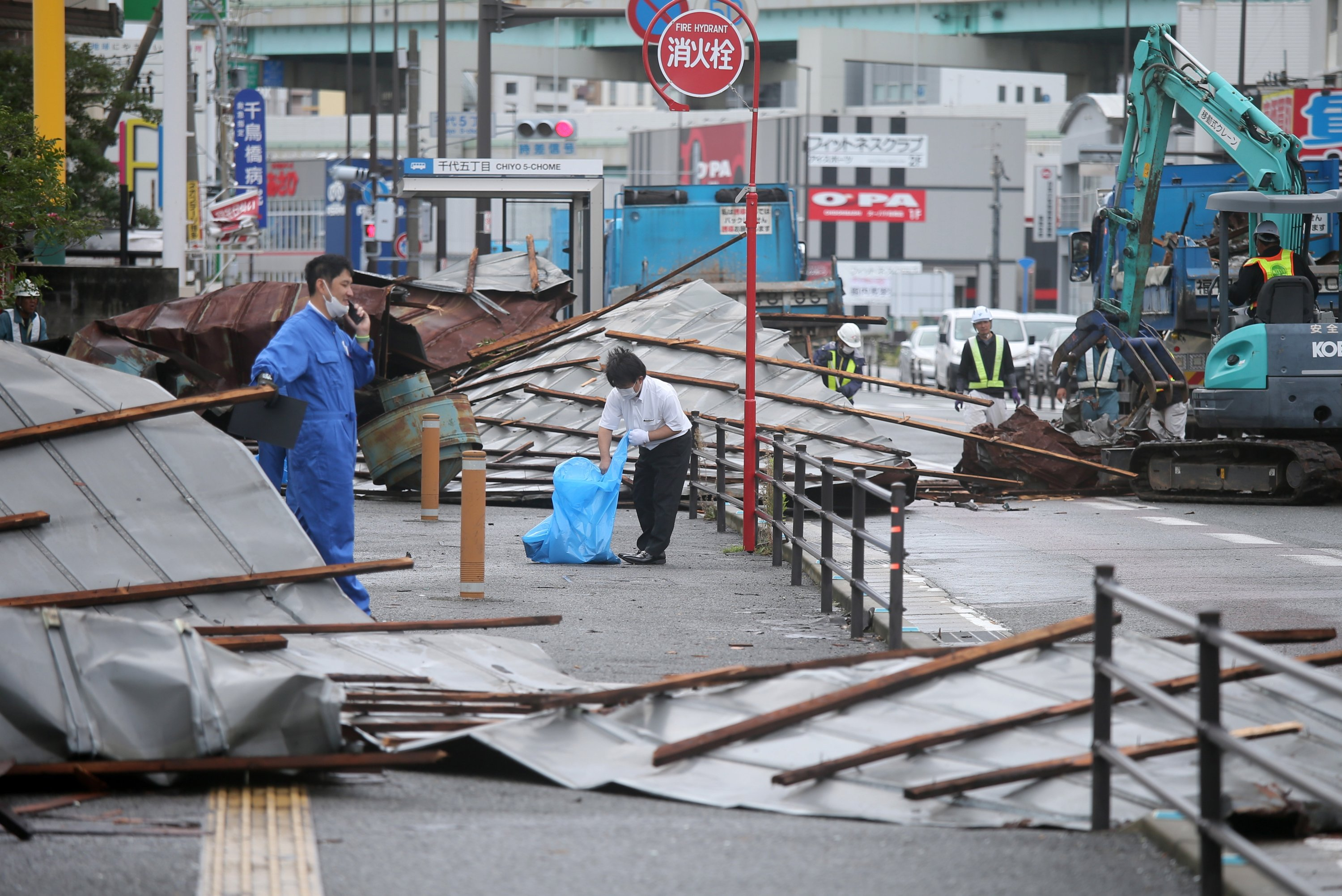 Typhoon Haishen moves onshore in South Korea after hitting Japan   Daily  Sabah
