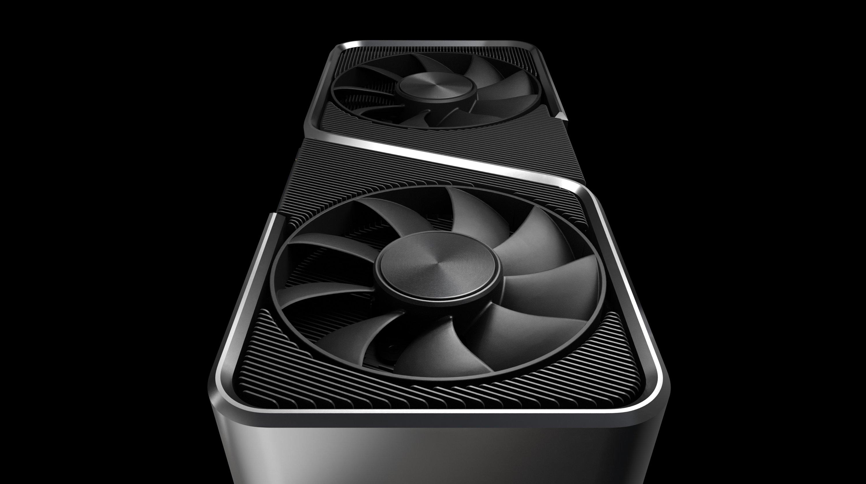 Nvidia's GeForce RTX 3070 graphics card. (Credit: Nvidia)