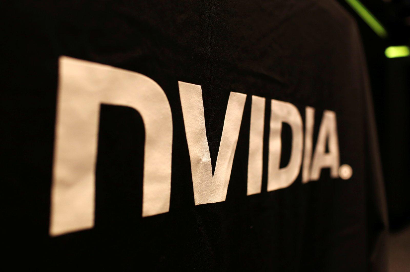 The logo of technology company Nvidia is seen at its headquarters in Santa Clara, California, U.S., Feb. 11, 2015. (REUTERS Photo)
