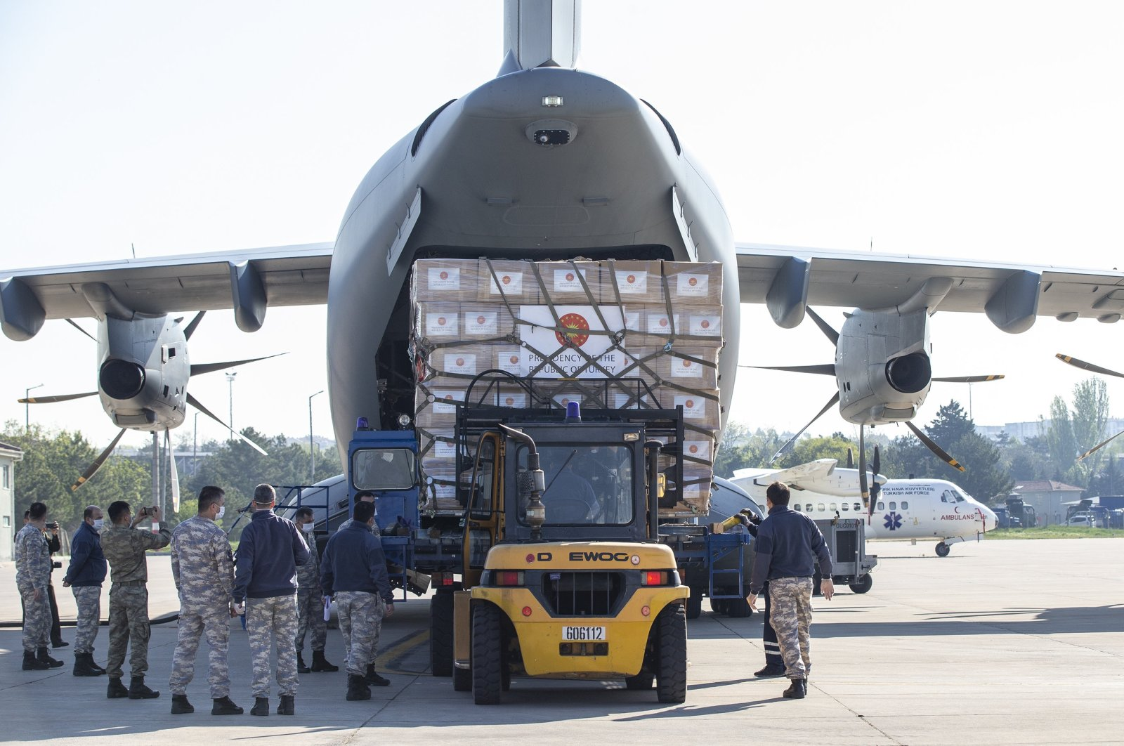 Turkey has sent medical aid to roughly 150 countries to help combat the coronavirus pandemic.