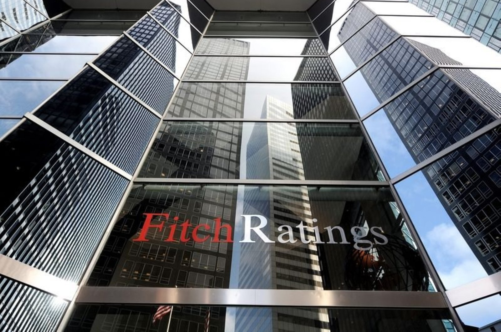 An exterior view of the offices at Fitch Ratings in New York City, Dec. 8, 2011. (EPA Photo)