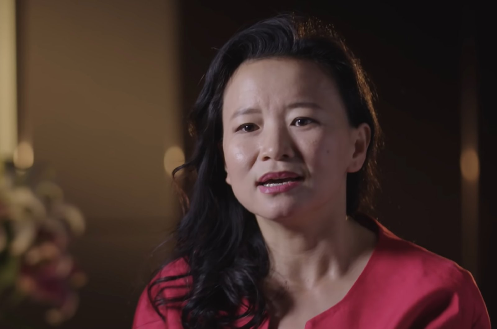 This undated frame grab taken from a handout video shows Australian journalist Cheng Lei. (AFP PHOTO /Australia's Department of Foreign Affairs and Trade (DFAT) / Australia Global Alumni)