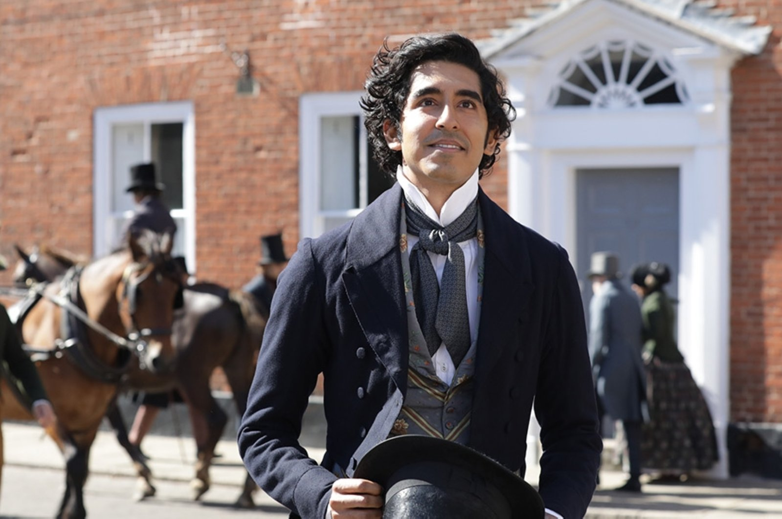 Dev Patel is seen as David Copperfield in a scene from the movie.