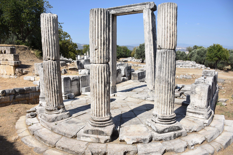 The Propylon in Lagina, Muğla province, southwestern Turkey, Sept. 7, 2020. (AA Photo)