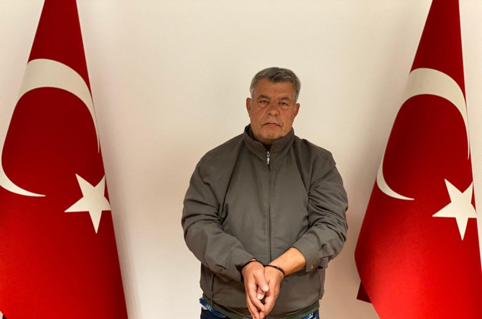 Wanted PKK terrorist Isa Özer stands for a photo in Istanbul, Turkey, Sept. 10, 2020. (AA Photo)