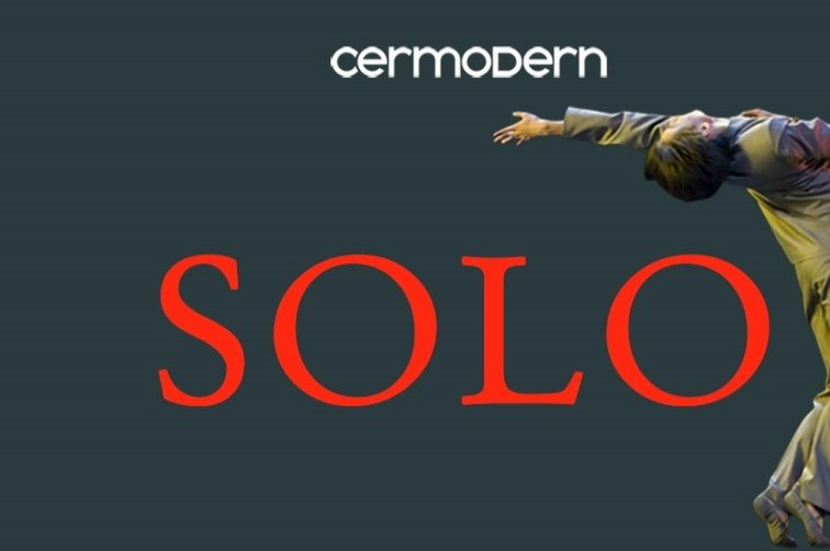 A poster of the International Solo Contemporary Dance Festival. (Photo courtesy of CerModern)