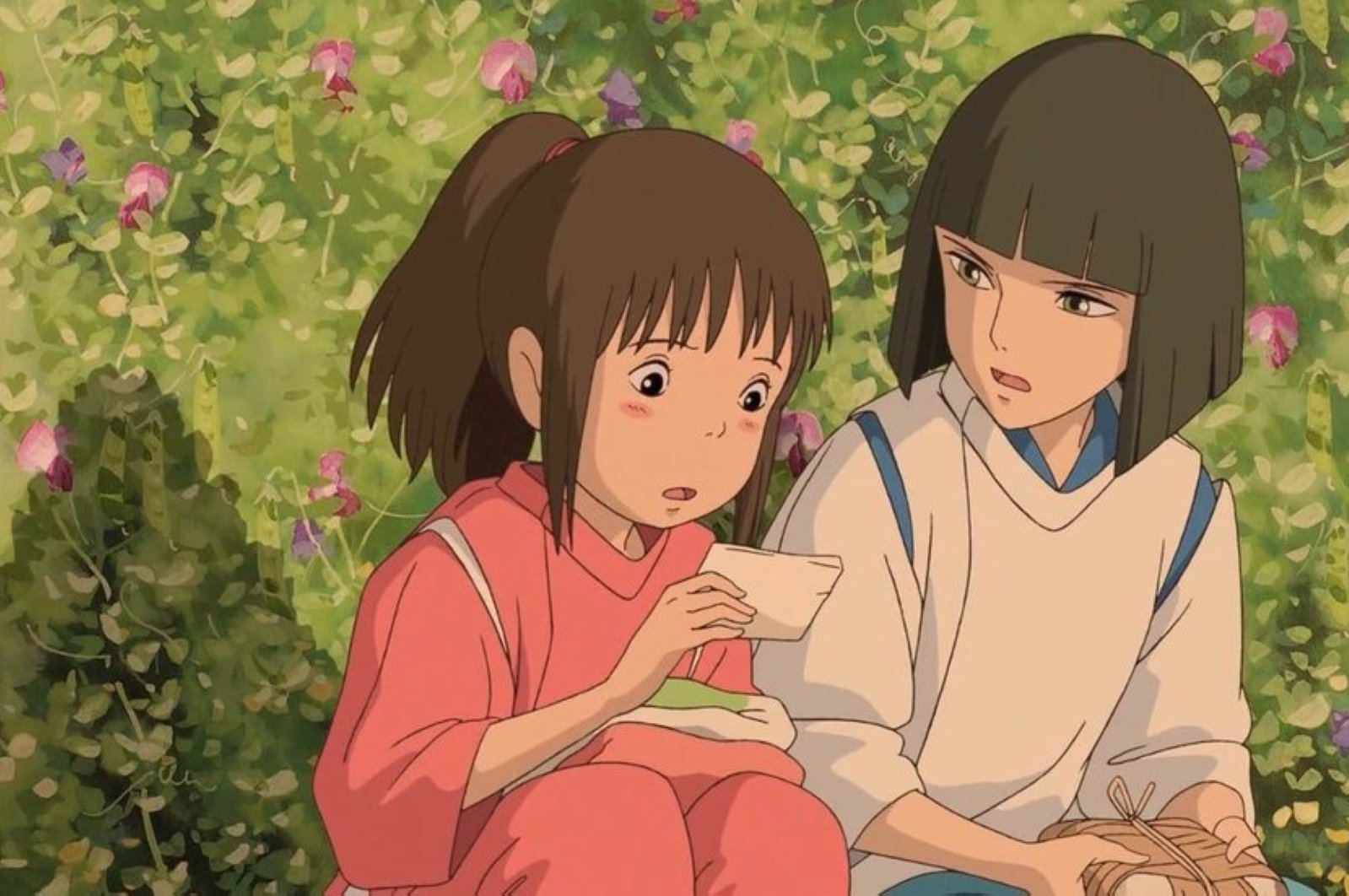 """Still shot from director Hayao Miyazaki's """"Spirited Away."""""""