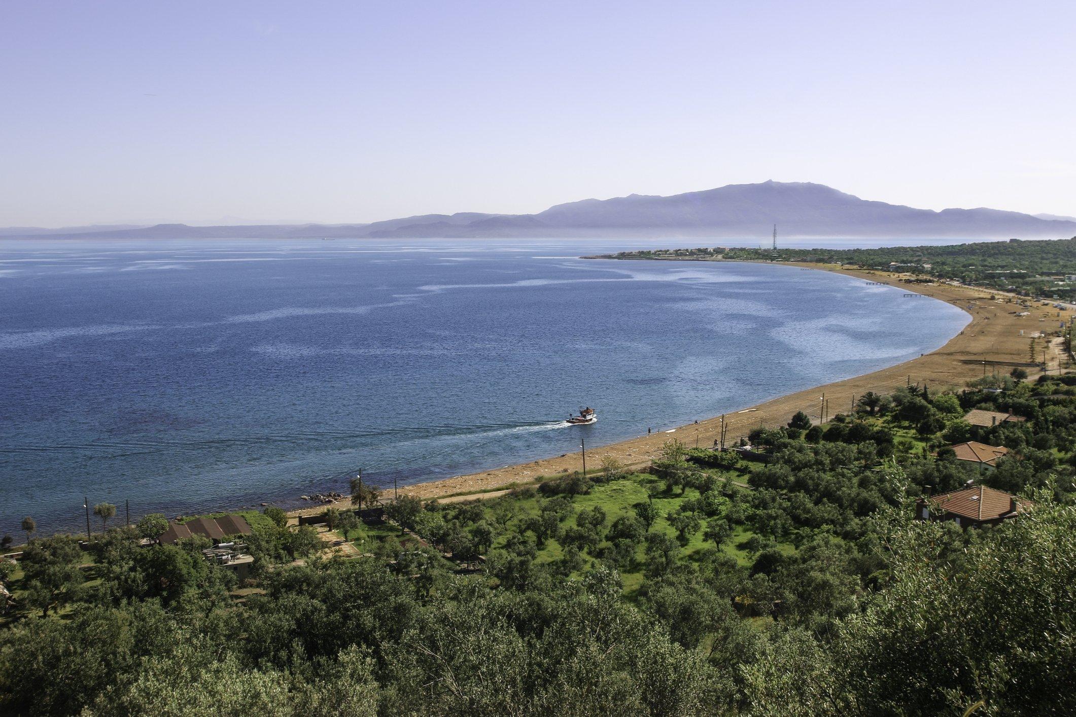 Kadırga Bay of Assos in Çanakkale, western Turkey during summer. (iStock Photo)