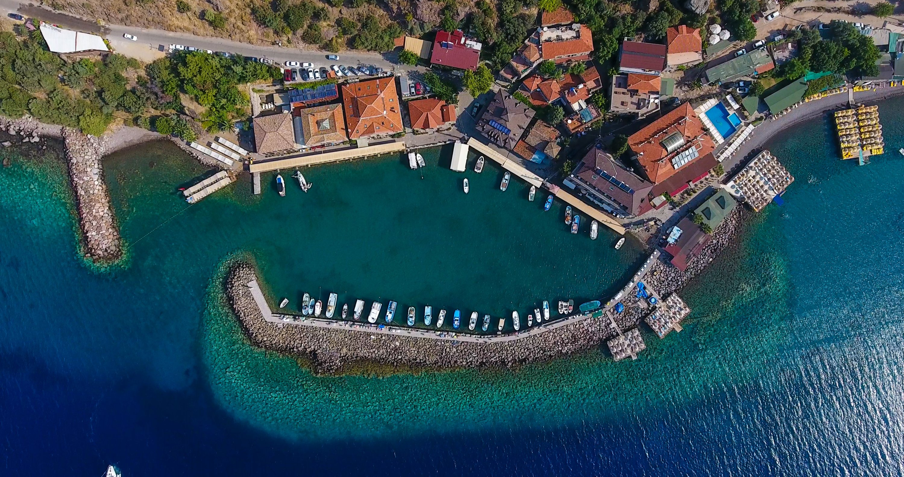The ancient port city of Assos has been inhabited since it was first founded some 3,000 years ago. (iStock Photo)