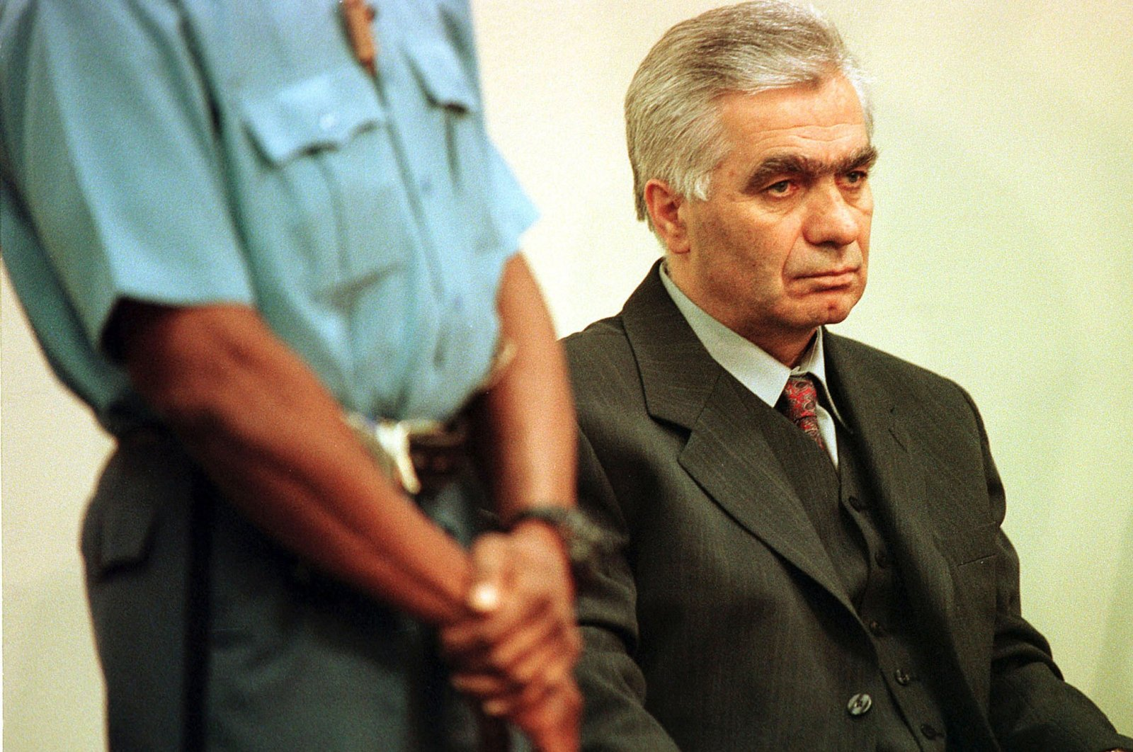 Momcilo Krajisnik, a former top wartime Bosnian Serb official who was convicted of war crimes by a U.N. court, has died after contracting the new coronavirus. (Reuters Photo)