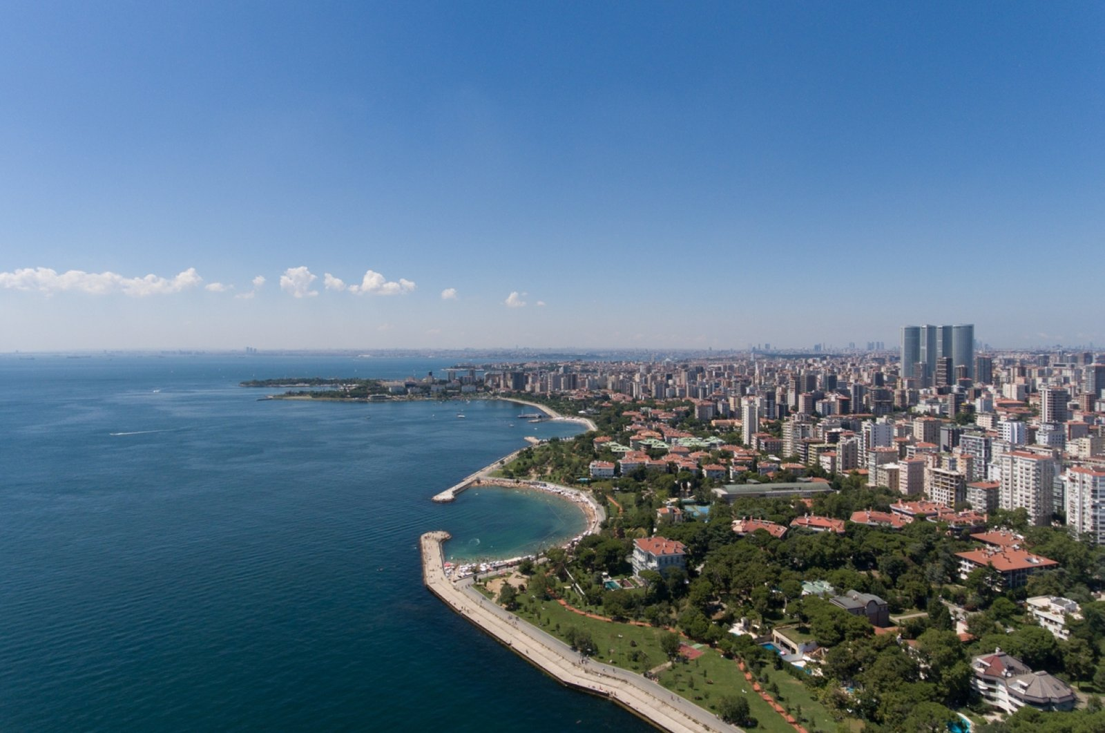 An aerial view of Istanbul from the city's Anatolian side. (iStock Photo)