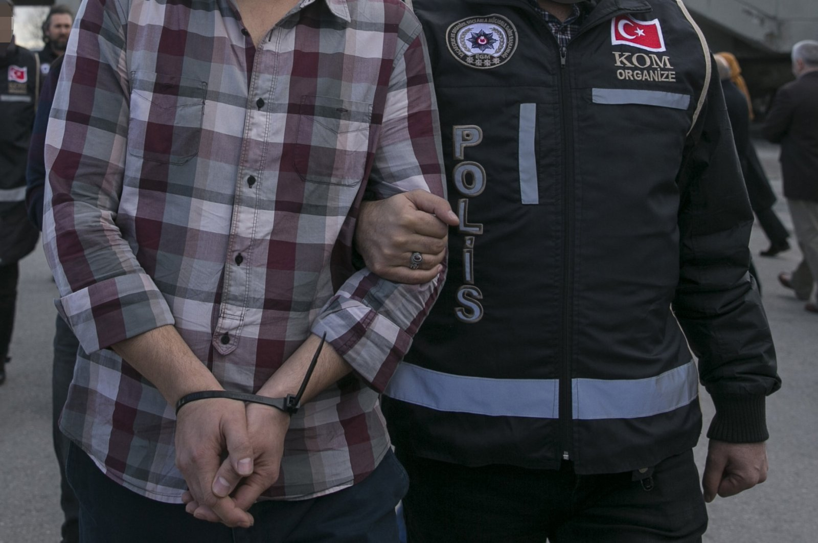 The FETÖ suspects were arrested in simultaneous operations across Turkey. (AA Photo)