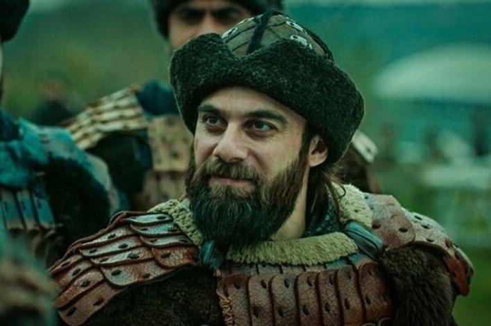 """Still shot showing Cavit Çetin Güner as Doğan Alp in """"Resurrection: Ertuğrul."""""""