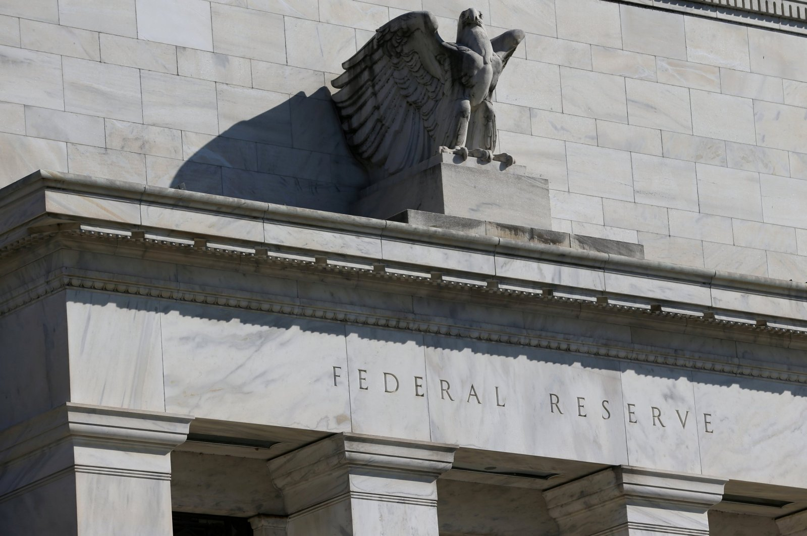 A view of the Federal Reserve building on Constitution Avenue in Washington, D.C., U.S., March 19, 2019. (Reuters Photo)