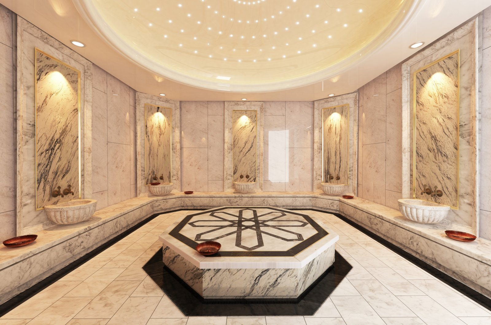 Turkish baths and spas have been a detox practice that has been around for centuries. (iStock Photo)