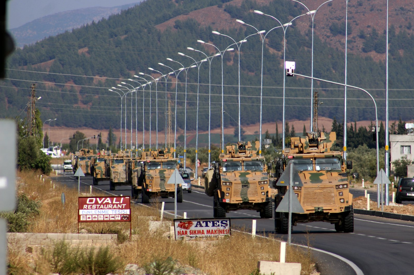 Since 2016, Turkey has launched a trio of successful anti-terror operations across its border in northern Syria. (AA Photo)