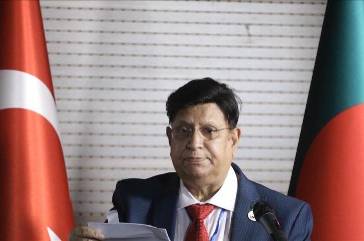Bangladeshi Foreign Minister AK Abdul Momen, capital Ankara, Turkey, Sept. 17, 2020. (AA Photo)