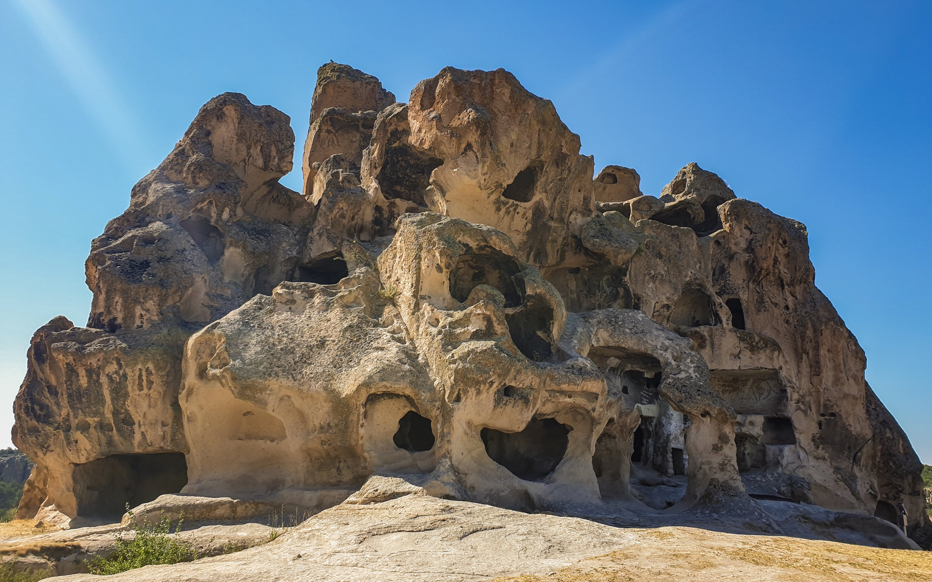 The Kırkgöz Rock in Yazılıkaya. (Photo by Argun Konuk)