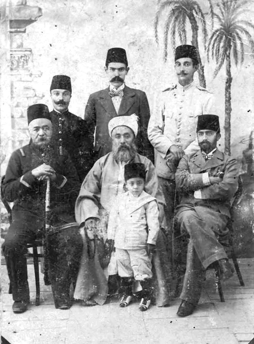 Ottoman scholar Abu Bakr Efendi (C) left a legacy among the Muslims living in South Africa during the 19th century.
