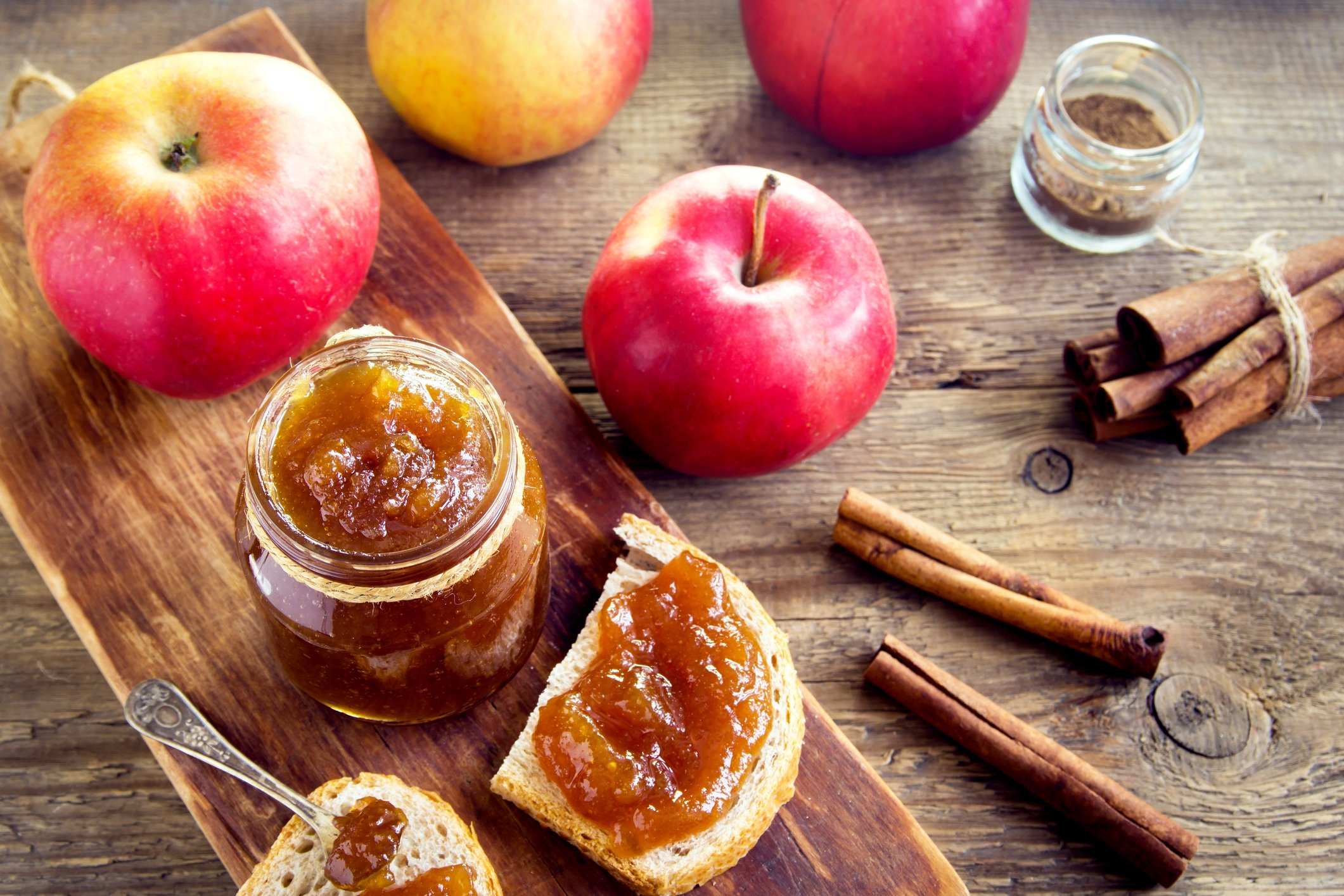 Use your soft and ripe apples to make some apple jam. (iStock Photo)
