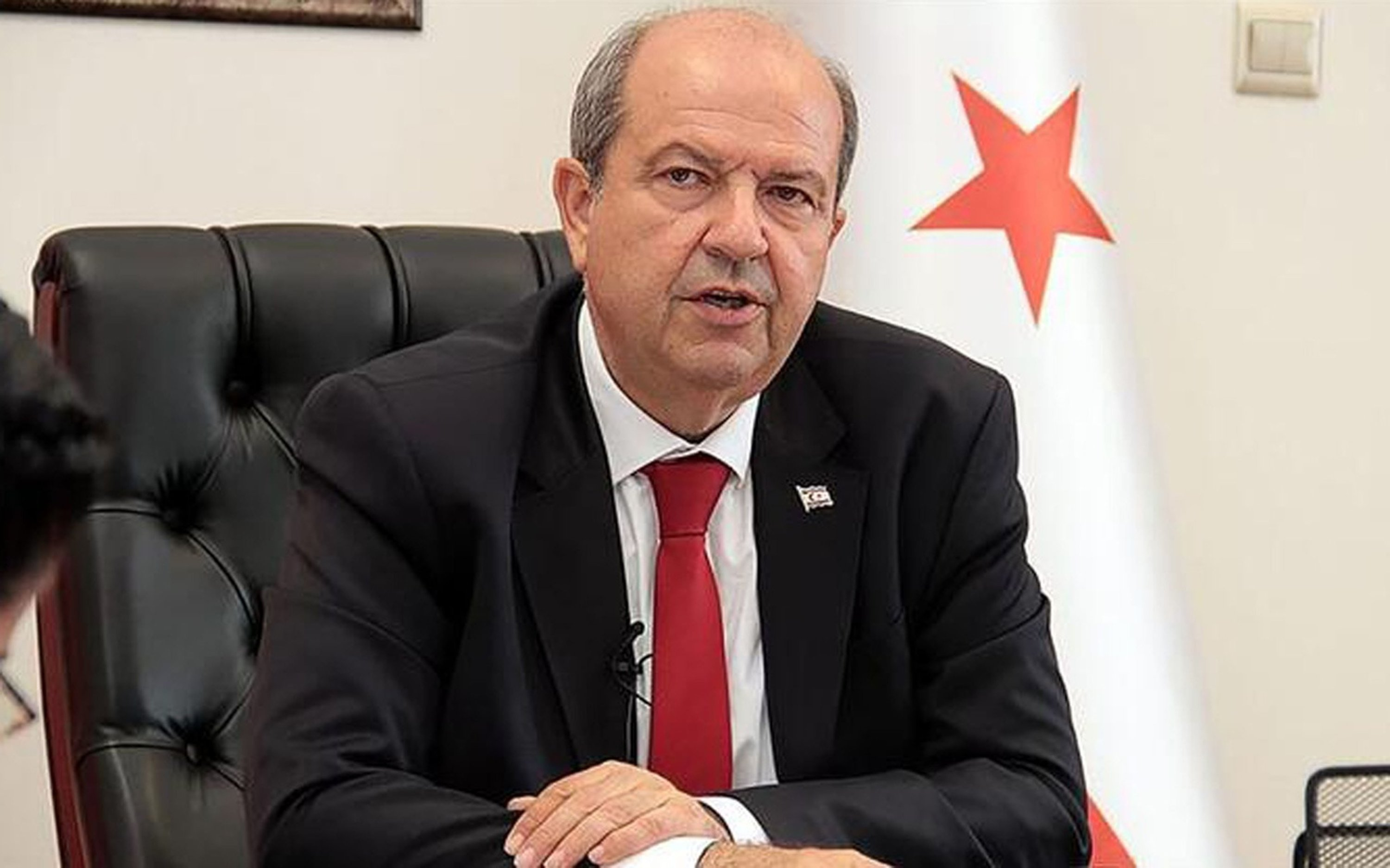 No one has right to put Turkish Cypriots at risk by calling for federal  solution, TRNC PM Tatar says | Daily Sabah