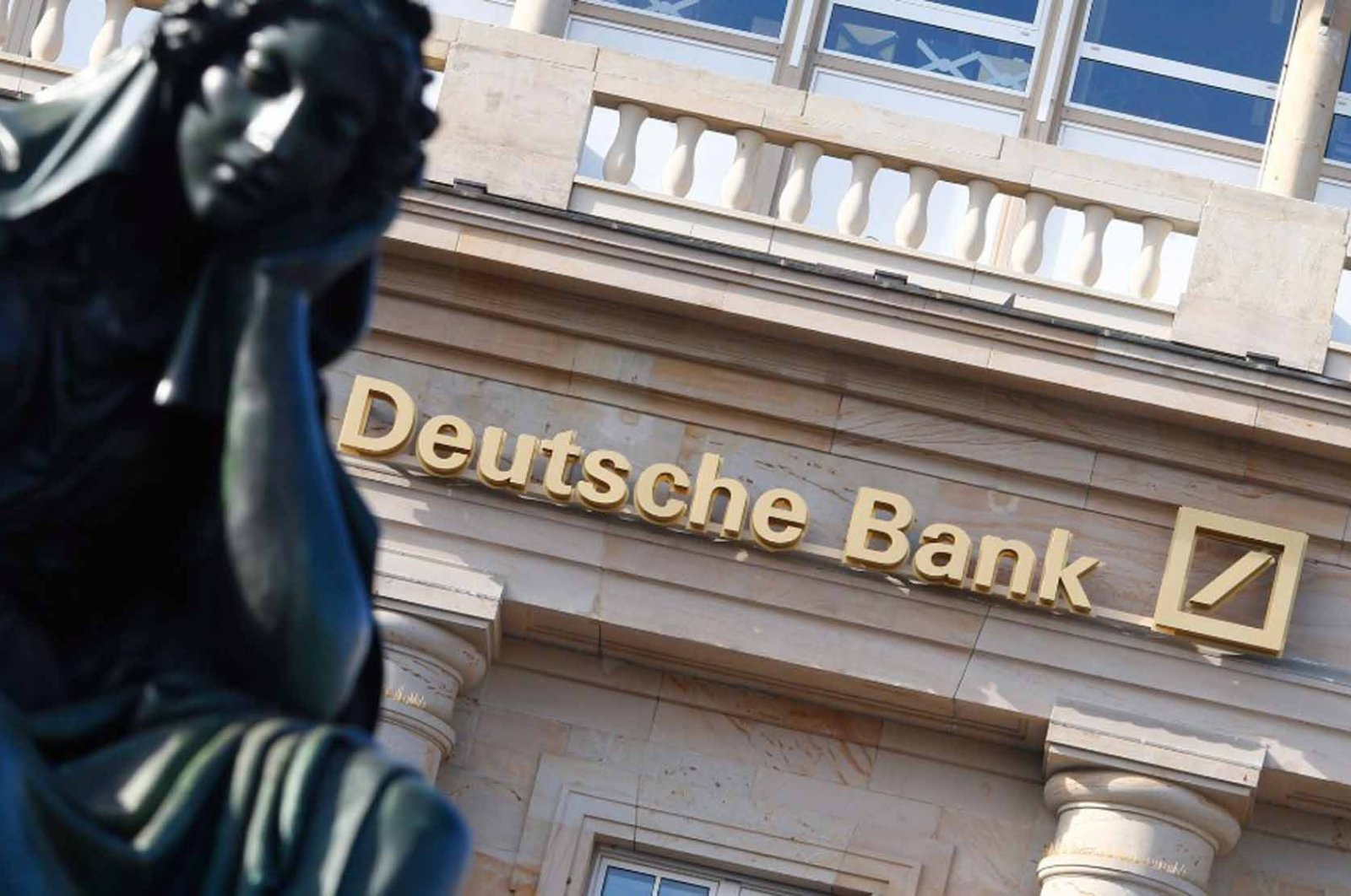 Undated file photo of branch of Deutsche Bank. The bank accounts for 62% of all Suspicious Activities Reports uncovered in the FinCEN Files investigation.