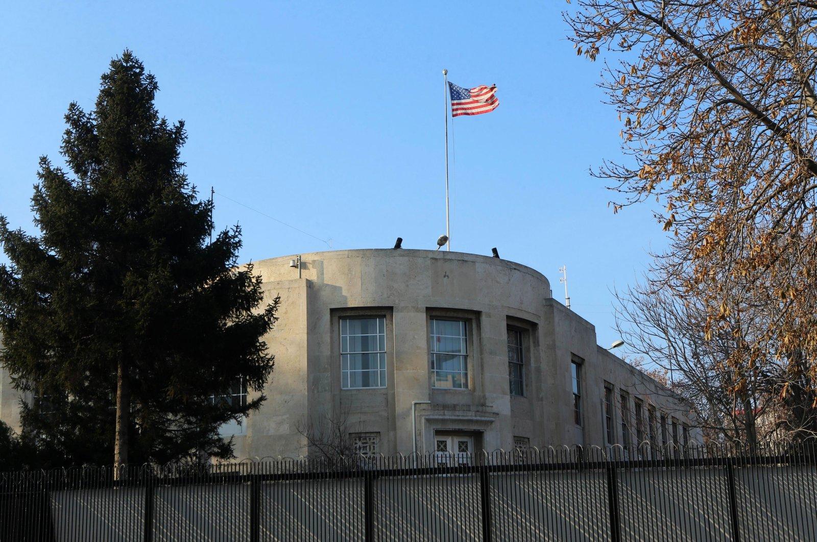 The U.S. Embassy in Ankara, Turkey, is seen on Dec. 20, 2016. (AFP Photo)