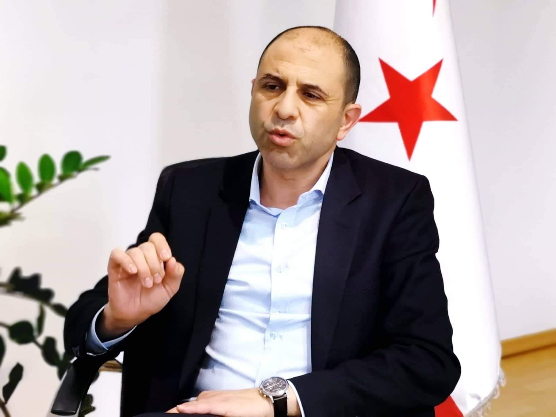 Foreign Minister and Deputy Prime Minister Kudret Özersay running in the presidential elections of the northern Cyprus for the second time after his defeat back in 2015. (IHA)