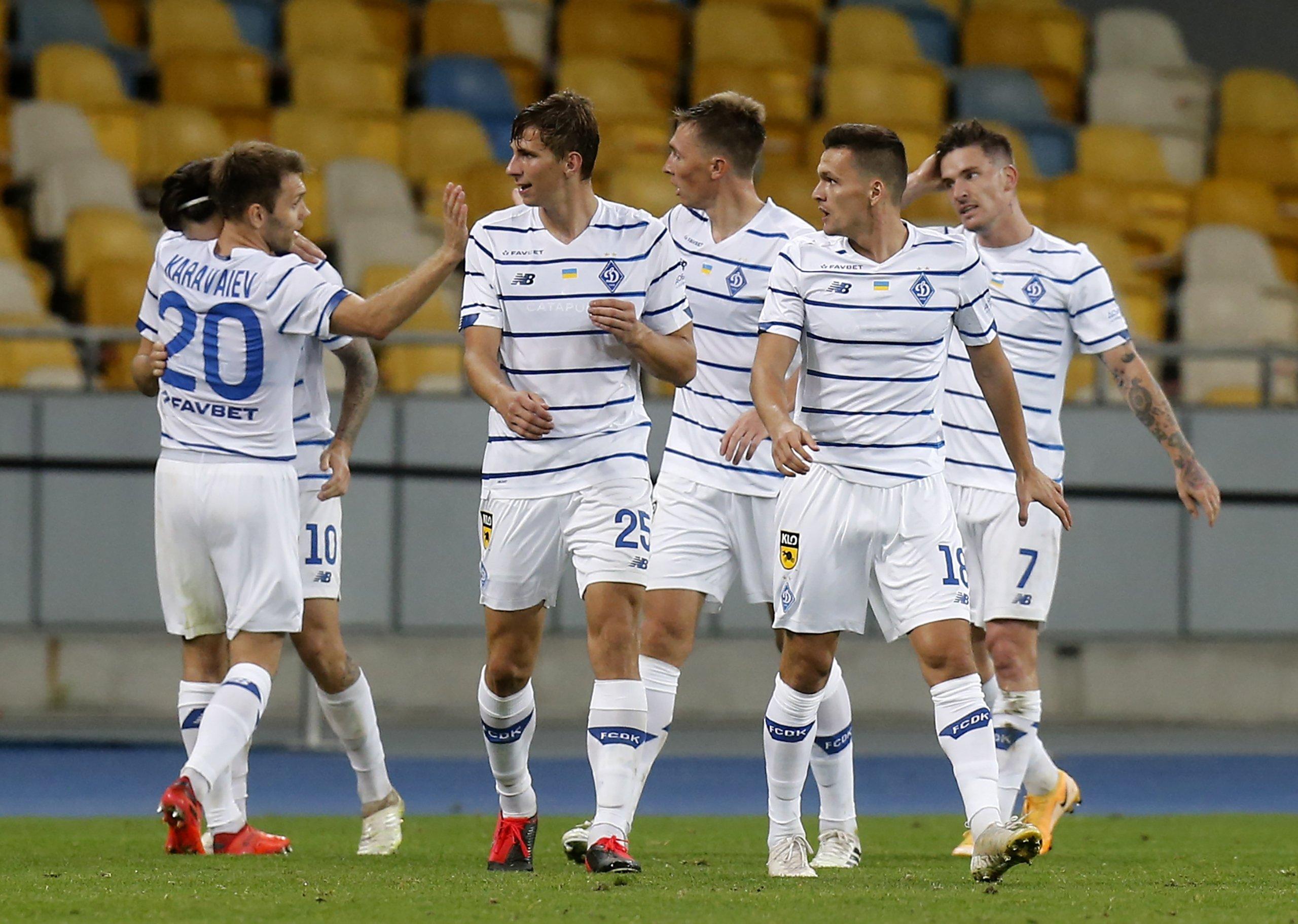 Olympiacos, Dynamo Kiev take control of Champions League playoffs   Daily  Sabah