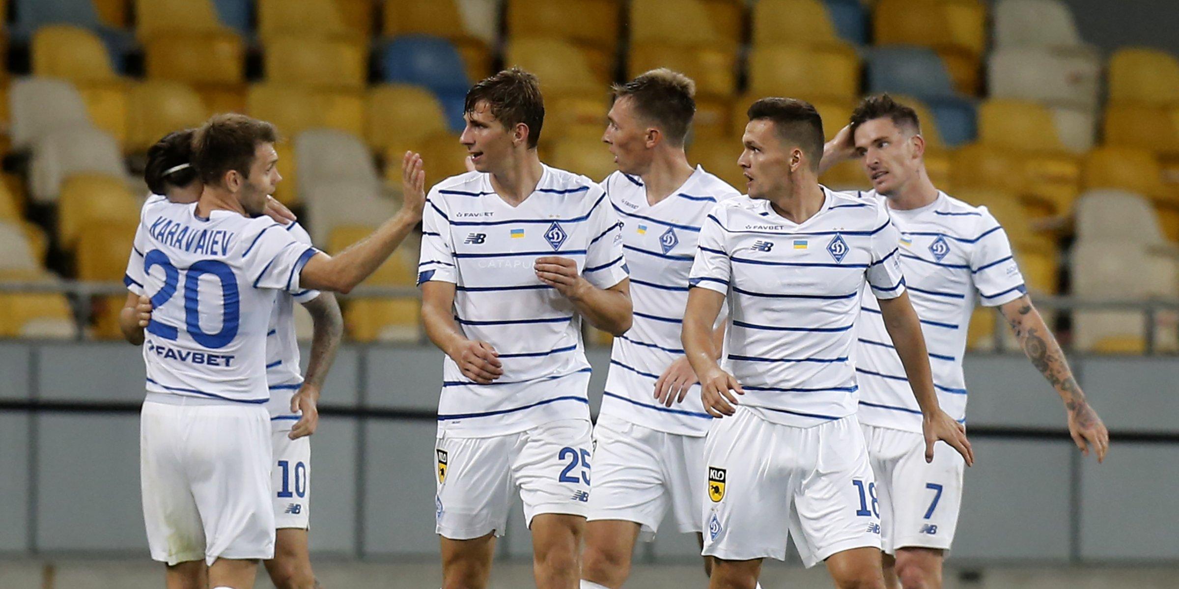 Olympiacos, Dynamo Kiev take control of Champion's League playoffs