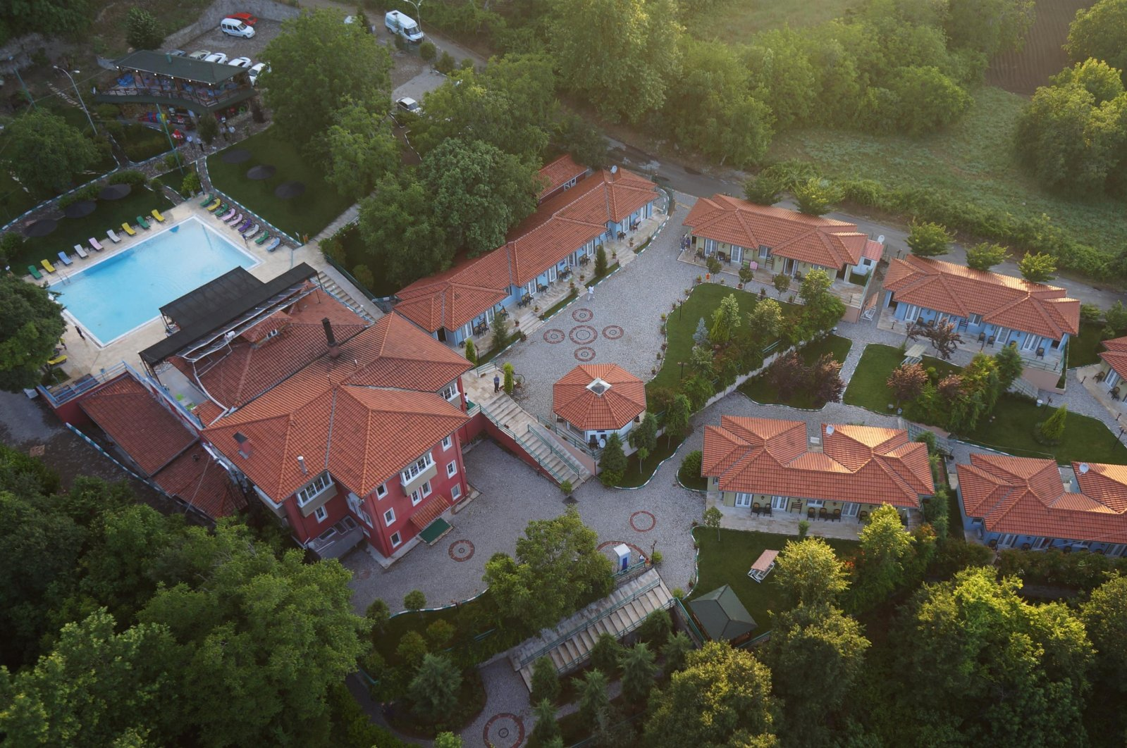 Photo shows a view of a health and wellbeing center in Balıkesir. (Supplied / press photo)