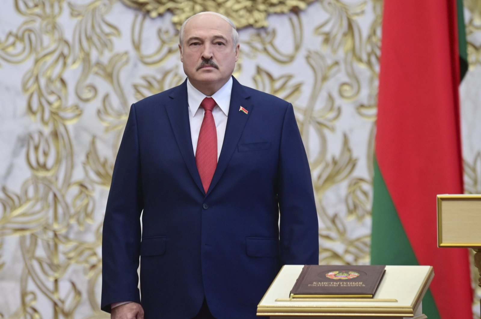 Belarus's Lukashenko holds secret inauguration after disputed election | Daily Sabah