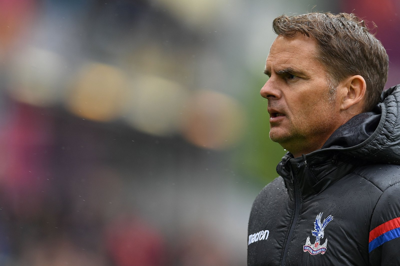 In this Sept. 10, 2017 file photo Crystal Palace's Dutch manager Frank de Boer looks on at full-time of the English Premier League match against Burnley at Turf Moor, Burnley, northwest England. (AFP Photo)