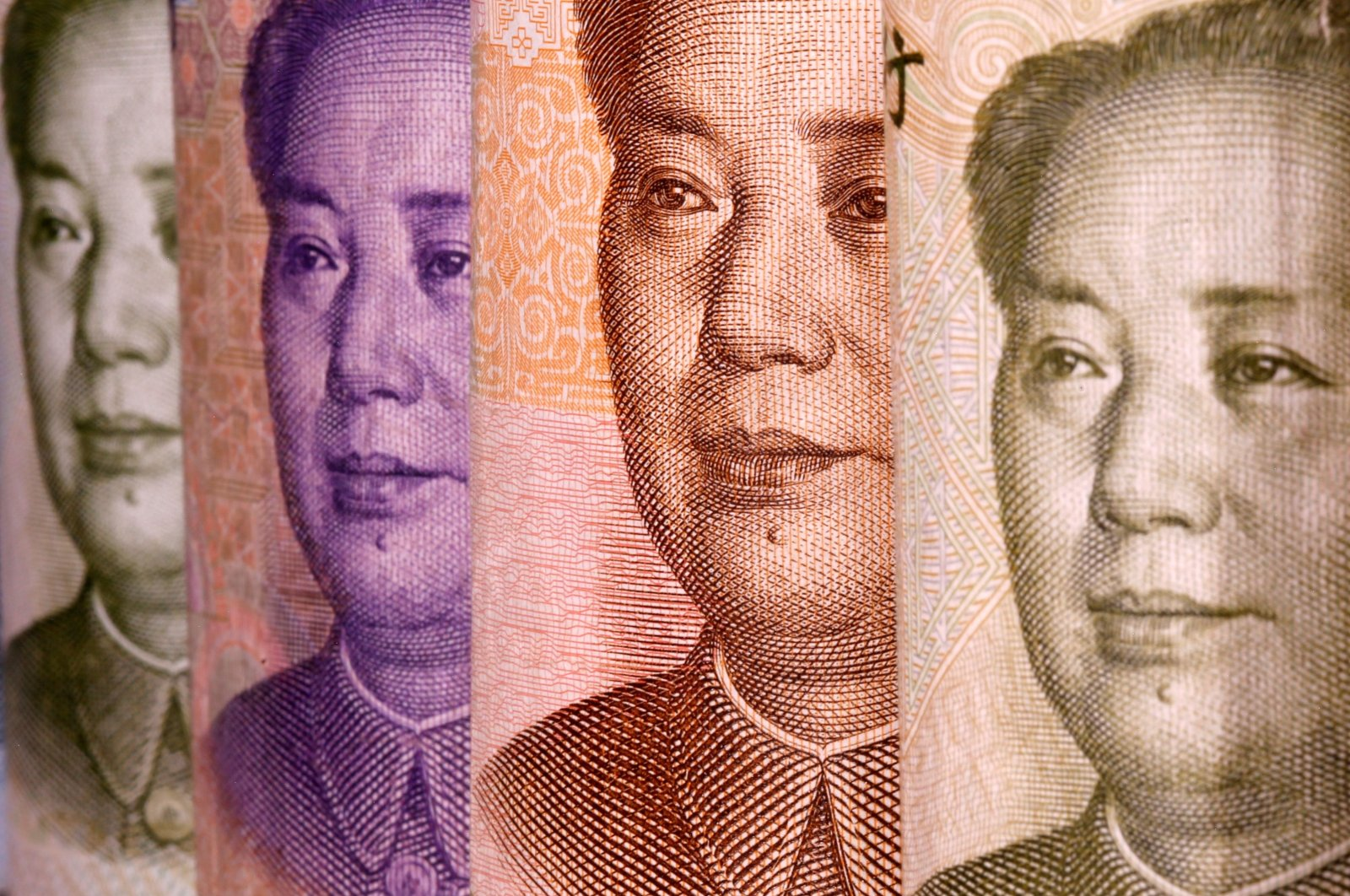 Chinese yuan banknotes are seen in this illustration taken Feb. 10, 2020. (Reuters Photo)