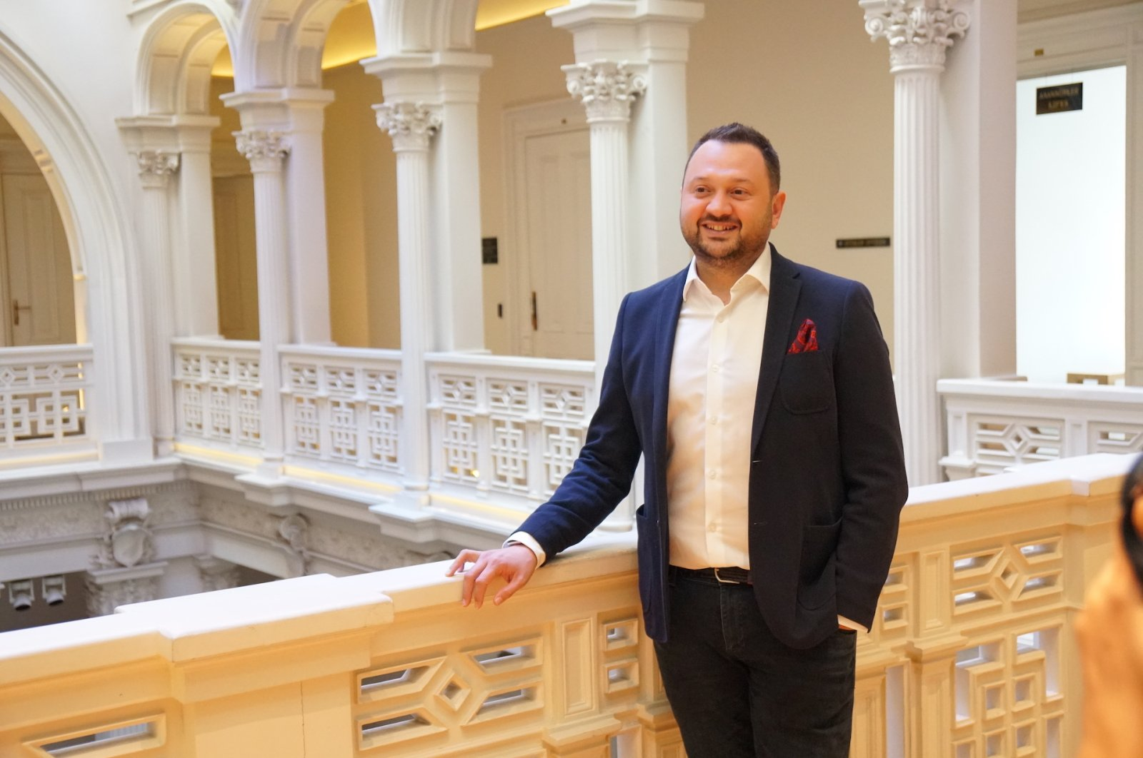 """""""With the Figogaranti model, we are now starting to produce Figoskors with electronic invoice and electronic ledger data of companies. We will enable Figoskor SMEs to access cash from banks on more favorable terms with objective criteria,"""" Koray Bahar, the founder of Figopara, said. (Photo courtesy of Figopara)"""