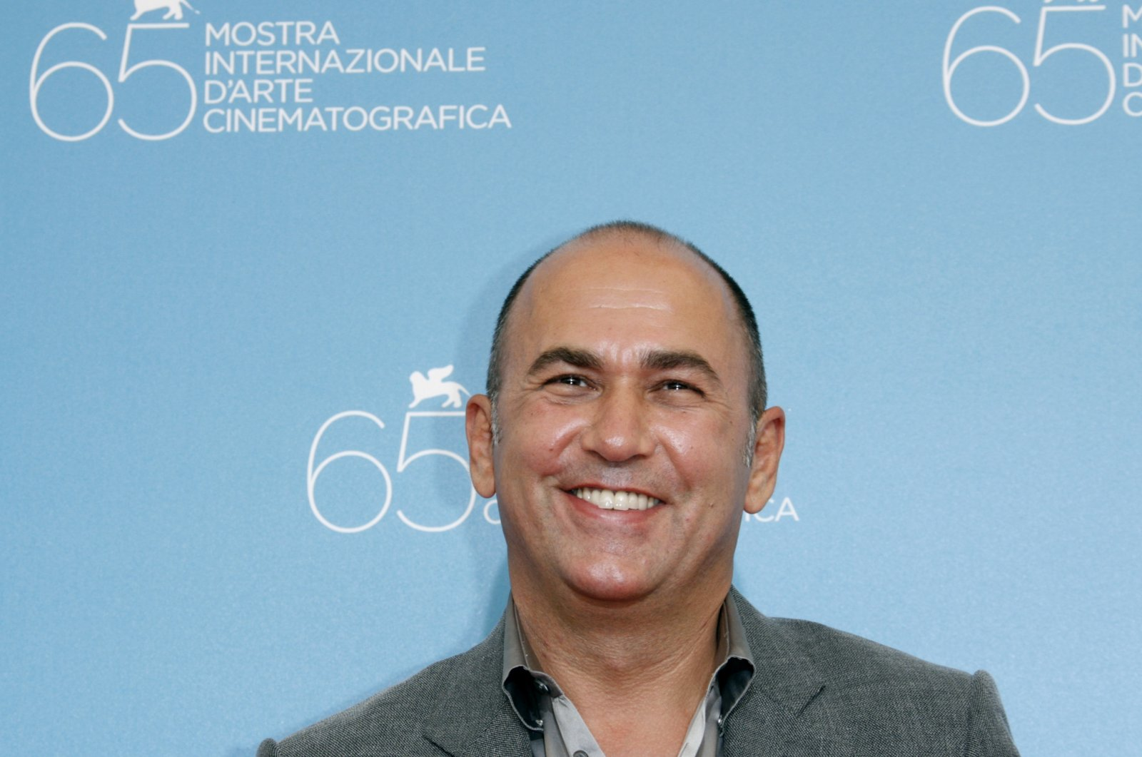 Ferzan Özpetek, a prominent director of Turkish descent, poses during a photo-call at the Venice Film Festival, Italy, Aug. 30, 2008. (REUTERS PHOTO)