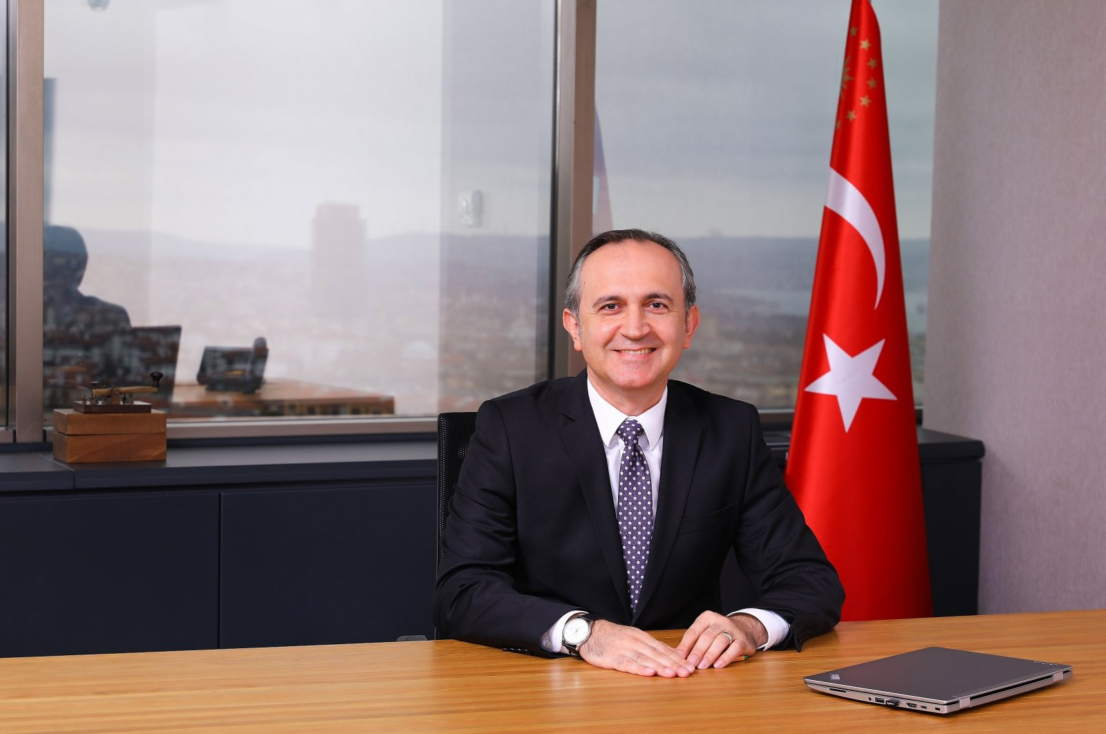 Turkey Wealth Fund CEO Zafer Sönmez is seen in this photo, provided on Sept. 25, 2020. (Courtesy of TWF)