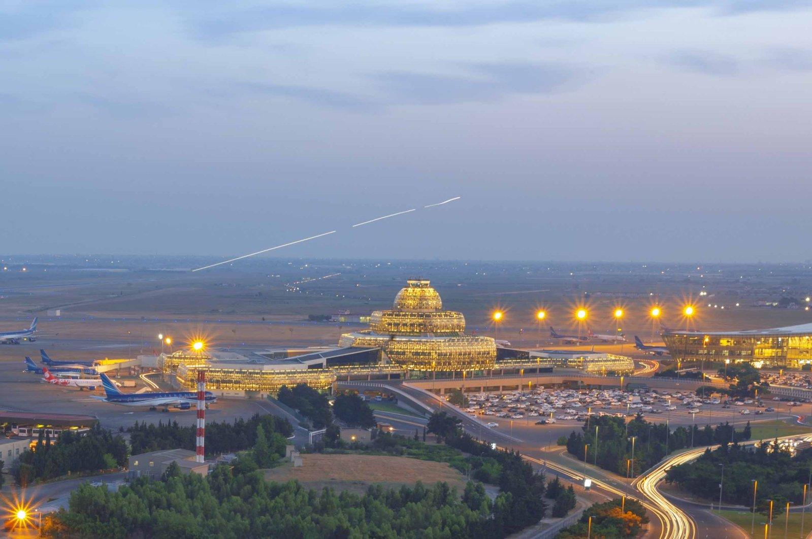 Baku International Airport (Photo by @BakuAirport Twitter)