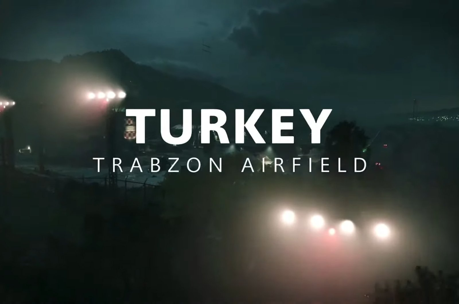 A screengrab from the Trabzon Airfield scene in Call of Duty Black Ops: Cold War.