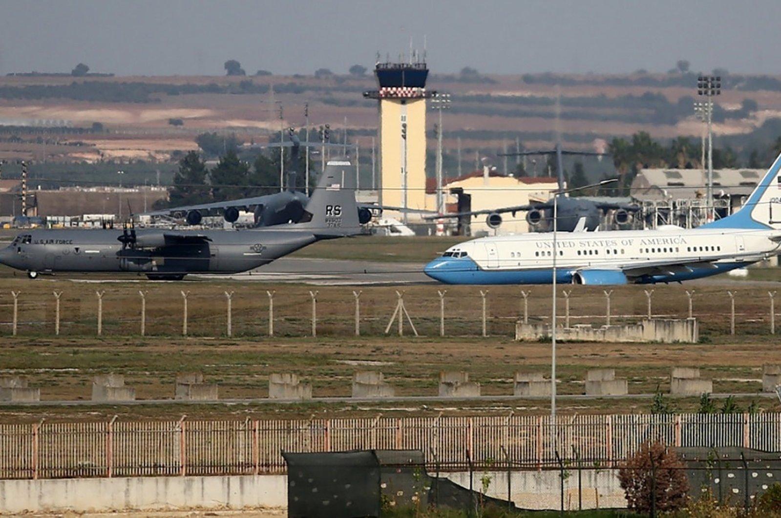 Incirlik Air Base, Adana, southern Turkey, Jan. 22, 2020.