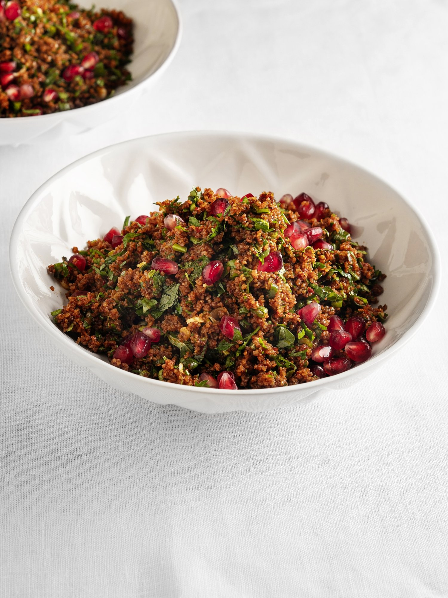 Everyone adds their own spin to kısır, and adding pomegranates is one way to make it fresher and juicier. (iStock Photo)