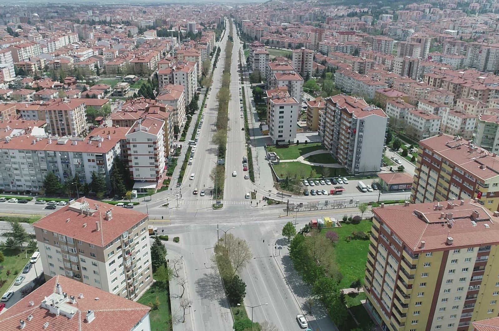 A view of Eskişehir, central Turkey, Sept. 30, 2020. (DHA Photo)