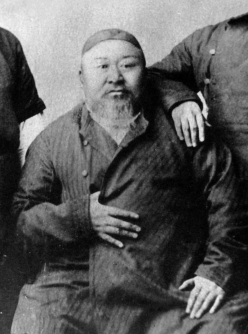 A photo of Abai Qunanbaiuly.