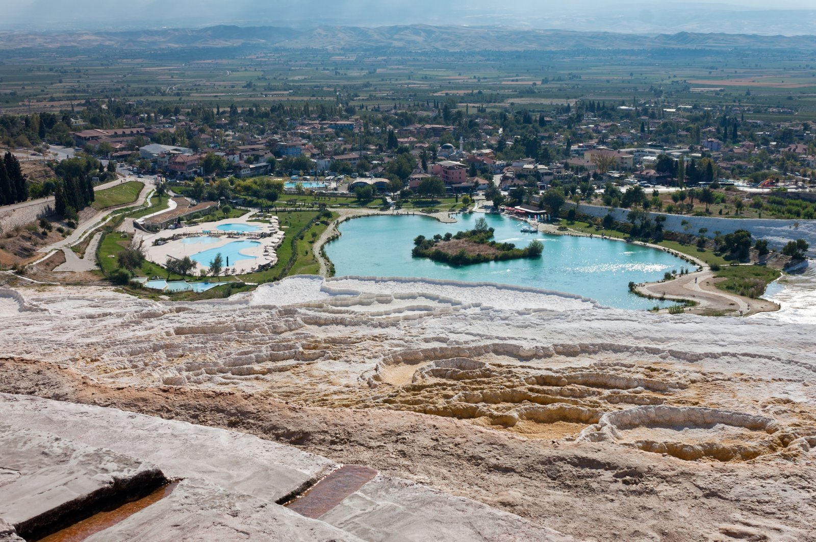 Pleistocene fossils are generally found in travertine areas in Denizli, southwestern Turkey. (iStock Photo)