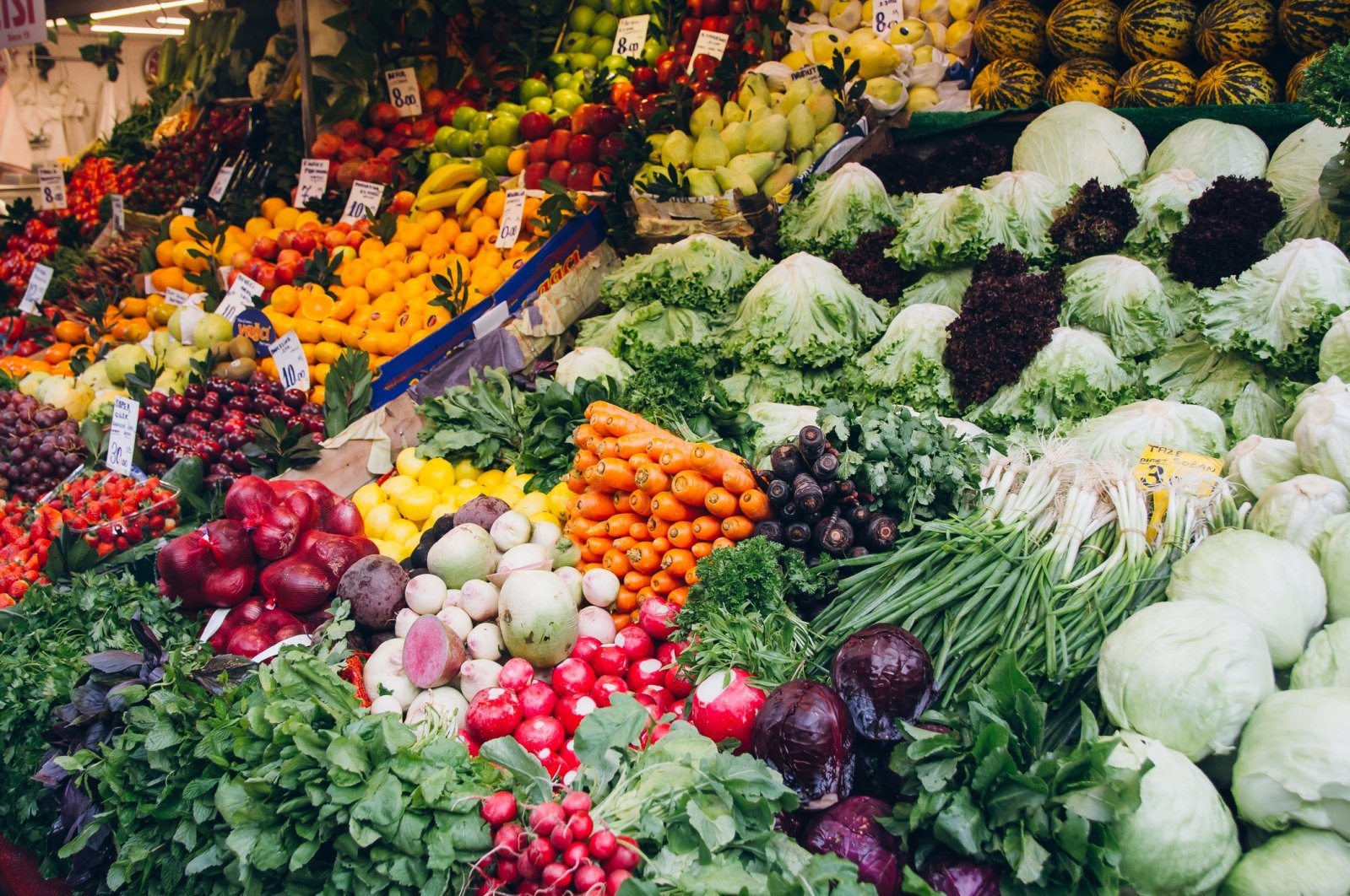 Local bazaars will, most of the time, offer better quality and cheaper produce than you'll get at supermarkets. (iStock Photo)