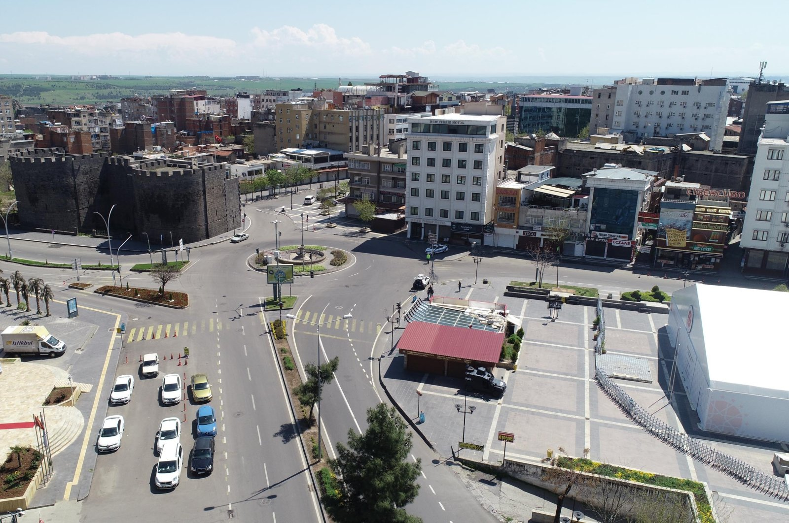 A general view of Diyarbakır, southeastern Turkey, Sept. 29, 2020. (DHA Photo)