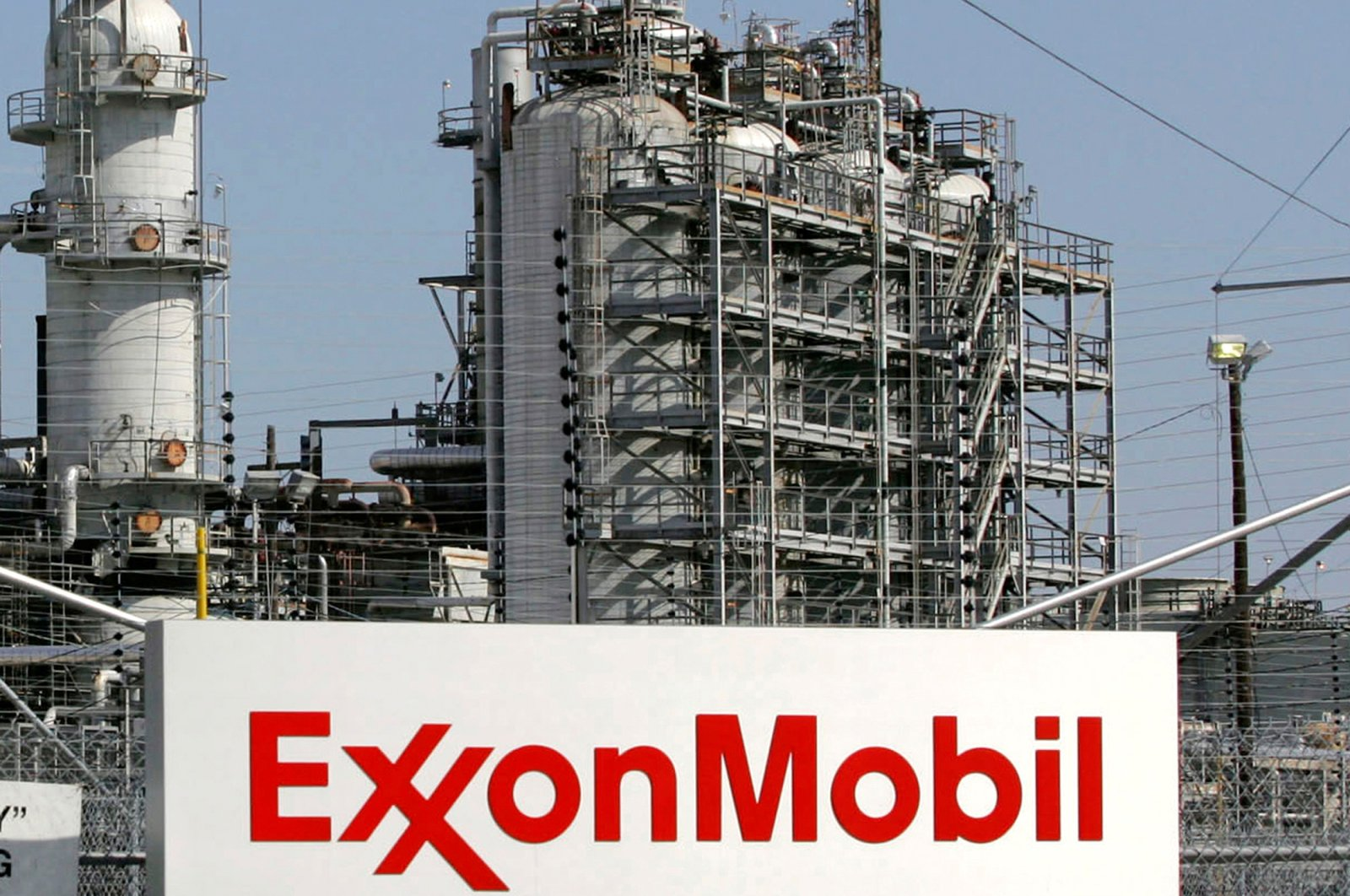 A view of the Exxon Mobil refinery in Baytown, Texas, U.S., Sept. 15, 2008. (Reuters Photo)