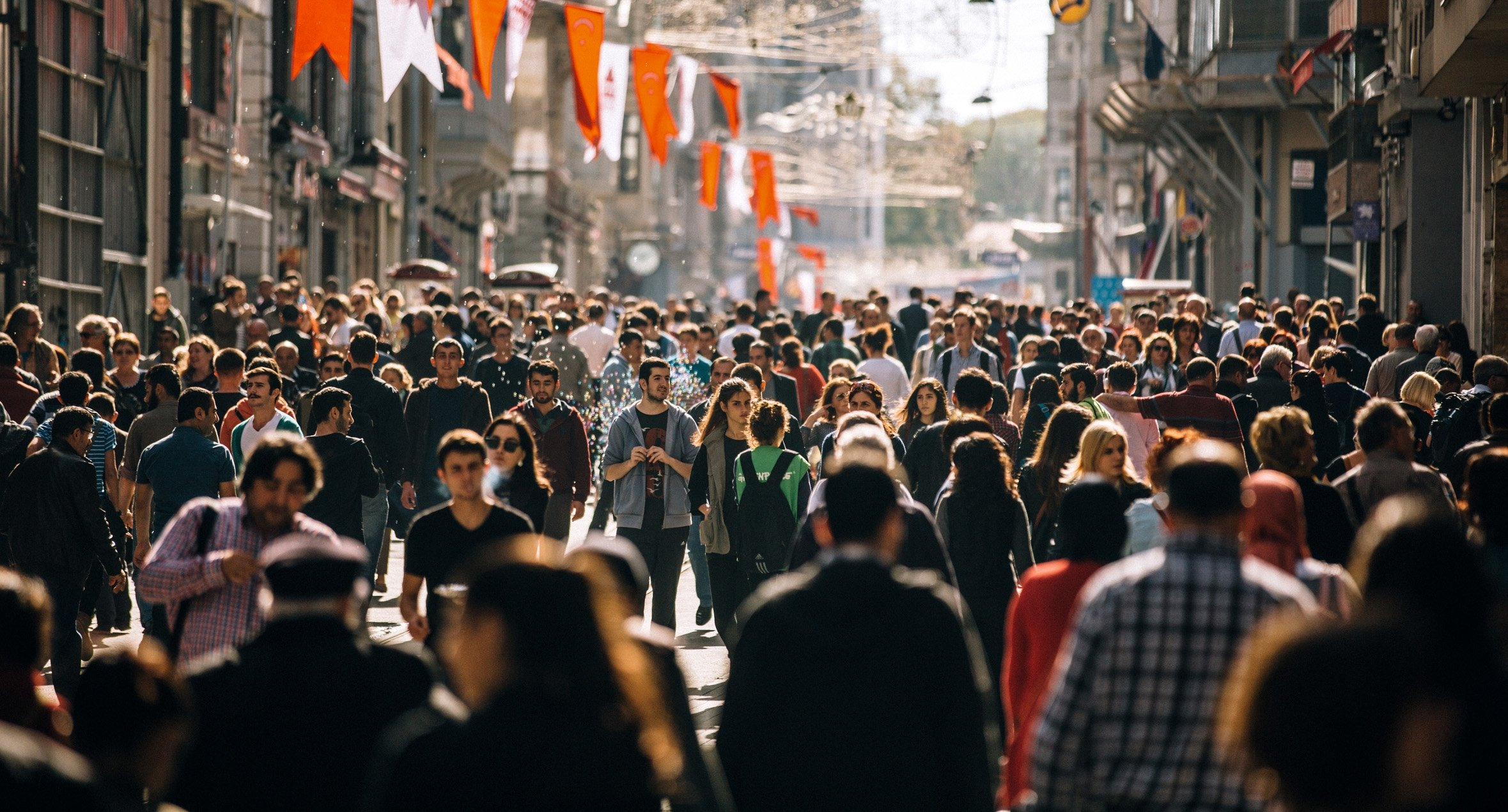 Much like how you'll feel when you first step onto the crowded Istiklal Avenue in Istanbul, feeling lost is completely normal when you move to a new country. (iStock Photo)
